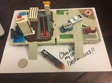 Micro Machines Travel City Lot Of 2 Sets - Basic & Air Marina W/4 Vehicles V2