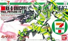 HG RX-0 Unicorn Gundam Destroy Mode kit model SEVEN-ELEVEN Ltd 1/144 hguc 7-11