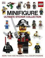Lego Minifigure Ultimate Sticker Collection ~ more than 1000 reusable stickers