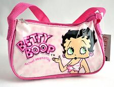 "BETTY BOOP - 7"" x 4.5"" Reusable Tote Purse Cosmetic Bag Gift Bag #1B07"