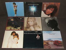 BARBRA STREISAND 17 LP RECORD ALBUMS LOT COLLECTION Greatest Hits 1&2/Joan/Wet+