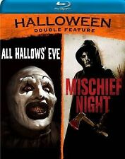 Halloween Double Feature: All Hallows' Eve/Mischief Night (Blu-ray Disc, 2014)