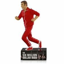 The Six Million Dollar Man 2015 Hallmark Ornament   Steve Austin  Bionic Man  TV