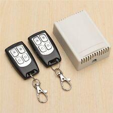 4 Voies Sans Fil RF Contrôle Télécommande Interrupteur+2 Transmetteur Recepteur