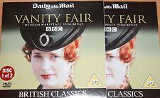 Vanity Fair (DVD - 2 Disk Set), Tom Ward, Natasha Little, Nathanial Parker