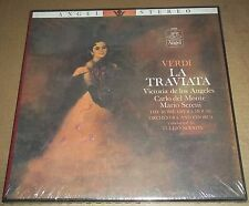 Victoria de los Angeles/Del Monte/Serafin VERDI La Traviata - Angel 3623 SEALED