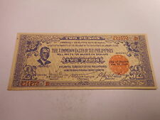 Philippines Emergency Currency Negros Occidental WWII Two Pesos Nice - # 421572