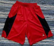 = Mens Shorts size XL red/black AIR JORDAN Nike long pockets basketball