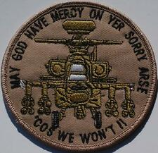 US AIRFORCE - GunShip Morale Sew On Patch no-730