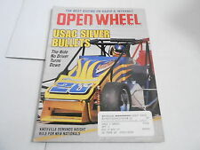 JULY 2001 OPEN WHEEL vintage car racing magazine