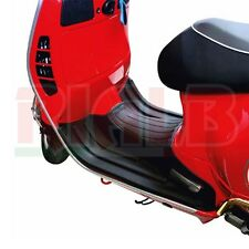 Black foot-rest carpet PVC Faco - 0143 for Piaggio Vespa GTS 300ie