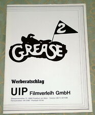 Michelle Pfeiffer GREASE 2 original Werberatschlag