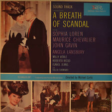 "OST - SOUNDTRACK - A BREATH OF SCANDAL - ALESSANDRO CICOGNINI 12"" LP (L868)"