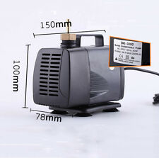 NEW 60W 3000L/H Engraving Machine Cooling Water Pump For CNC Spindle Motor 3M