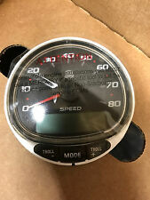 Mercury Smartcraft Speed/Tach Kit Black 80MPH 8M0101096 **MISSING TACHOMETER**