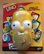 UNO Card Game The Simpsons Homer's Head Special Edition New Old Stock 2007