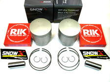 2 SKIDOO 800R DUAL RING PISTONS 07-13 SUMMIT X PTEK EVEREST HILLCLIMB 09 10 2011