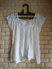 4happyshopping ladies/girls/women tops & T-shirt/off white top