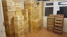 12 bottle size - Wooden French Chateau Wine Crates Boxes FREE DELIVERY