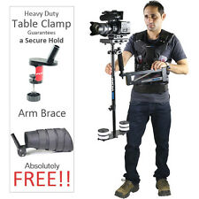 Flycam 5000 Steadycam Stabilization System With Arm Vest For DSLR Video Shoot