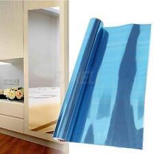 100x60cm Espejos Auto Adhesivo Mosaico Pegatinas de Pared Azulejo Decoración