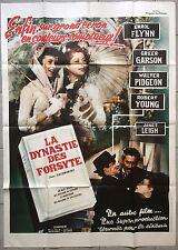 Affiche LA DYNASTIE DES FORSYTE That Forsyte Woman ERROL FLYNN Greer Garson *
