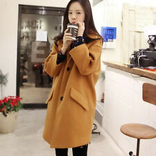 Ladies Women Casual Coat Jacket Long Parka Loose Tops Fashion Outwear Overcoat