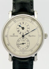 CHRONOSWISS REGULATEUR AUTOMATIQUE STAHL HERRENUHR - Ref. CH1223 - ca. 90er J.