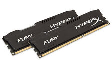 Kingston HyperX Fury Black 16GB (2x8GB) Kit DDR3 1866MHz Desktop RAM Memory