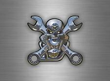Sticker car motorcycle helmet decal chopper biker skull motorcycles tuning jdm