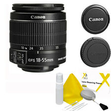 Canon EF-S 18-55mm F/3.5-5.6 IS II Lens + 5 Pc Cleaning Kit for Canon SLR
