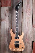 Jackson JS32 DKA Dinky Arch Top Electric Guitar Floyd Rose Natural Oil Finish