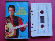 ELVIS PRESLEY ELVIS SINGS COUNTRY FAVOURITES CASSETTE TAPE AUSTRALIA