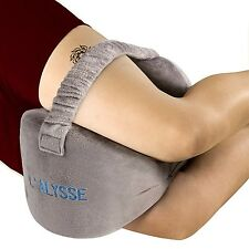 Sciatica Nerve Pain Relief Knee Pillow - Great for pains of Hip Leg Knee Back...
