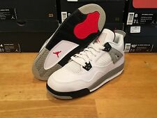 "Nike Air Jordan Retro 4 ""Cement"" Oreo Laser Toro Bred Playoffs Fire Red Thunder"