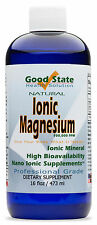 Liquid Ionic Minerals Magnesium (192 Servings At 100 Mg Elemental - Plus 2 Mg Fu