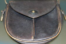 ältere, kleine Handtasche,orig.  Etienne Aigner, dunkelblau