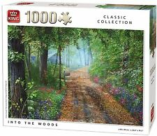 1000 Piece Classic Collection Jigsaw Puzzle - INTO THE WOODS FOREST PATH 05380