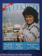 Weekend Magazine - Jill Gascoine, Princess Margaret   7th Nov 1984