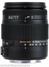 Sigma 18-250mm f/3.5-6.3 OS HSM DC lentille pour Canon-grand tout en un objectif