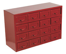 APDC16 Sealey Metal Cabinet Box 16 Drawer [Tool Storage]