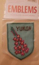 Fireweed (Provincial Flower) Yukon Territory Canada Patch - NIP New