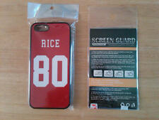San Francisco 49ers Jerry Rice  Iphone 5s Case Cover and Screen Protector Guard