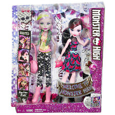 Welcome to Monster High DRACULAURA & MOANICA D'KAY 2-Pack New  6+