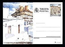 SPAIN - SPAGNA - 1990 - Cart. Post. - La Alcazaba in Almeria. 45 pt, Cattedrale