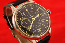 Vintage military style WAR2 WW2 USSR vs Germany Pilot's watch LACO