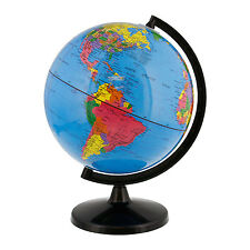 "8"" Inch (20cm) Blue Ocean Rotating Desktop World Earth Globe"