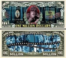 Le LOUP-GAROU Billet MILLION DOLLAR US! Cinéma Horreur the Wolf Man 1941 Affiche