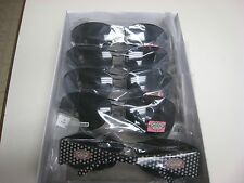 5 Pr PHOEBE COUTURE Polarized Sunglasses-Women's #P406-Black -NWT-63-14-120  sz