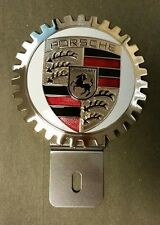 Porsche Owner Grille Badge License Plate Topper  NEW Great Gift Item!